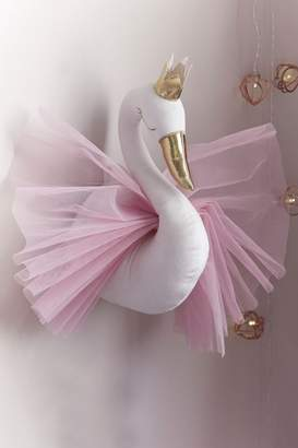 Next Girls Lipsy Princess Swan Wall Hanging - Pink