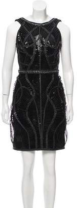 Iris Van Herpen Hybrid Cage Leather Dress w/ Tags