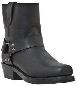 Dan Post Dingo Men's Leather Motorcycle Boots - Rev Up