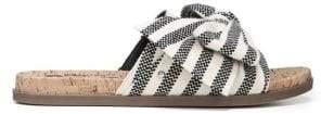 Sam Edelman Ninette Striped Knot Slides