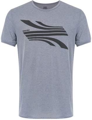 Track & Field Road print t-shirt