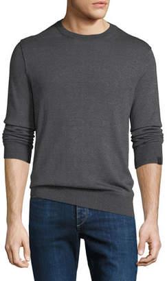 Rag & Bone Men's Davis Merino/Linen Crewneck Sweater