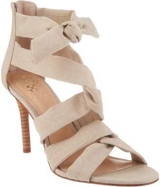 Vince Camuto Linen Multi Strap Sandals - Chania