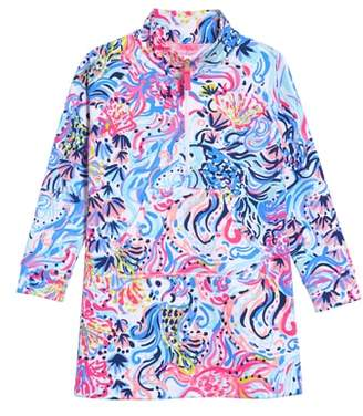 Lilly Pulitzer R) Mini Skipper Shift Dress