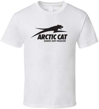 Perfect Fit T Shirts Arctic Cat ATV Extreme Snow T Shirt L