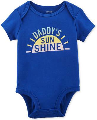 Carter's Daddy's Sunshine Graphic-Print Cotton Bodysuit, Baby Girls