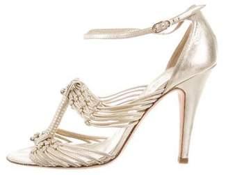 Chanel Multistrap CC Sandals
