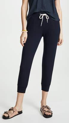 Monrow Cropped Sporty Sweatpants