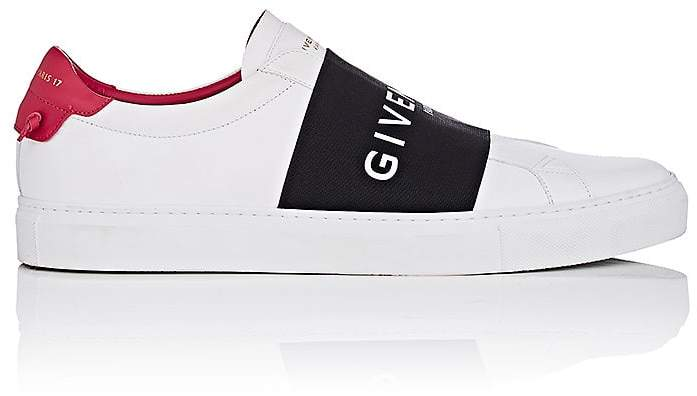 Givenchy Women's Logo-Band Leather Sneakers
