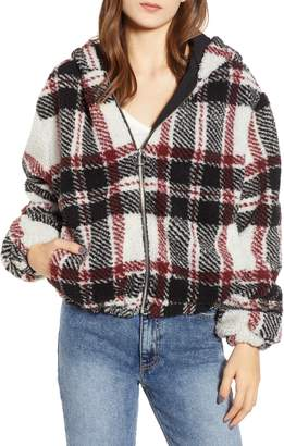 Thread & Supply Plaid Fleece Jacket