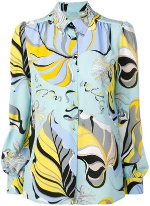 Emilio Pucci printed button down shirt