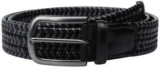 Torino Leather Co. 35mm Italian Mini Strand Woven Stretch Leather Men's Belts