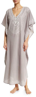 Flora Bella Mossell Embroidered Long Caftan $175 thestylecure.com