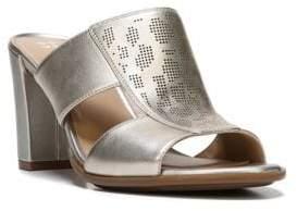 Naturalizer Zabrina Wrapped-Heel Leather Sandals