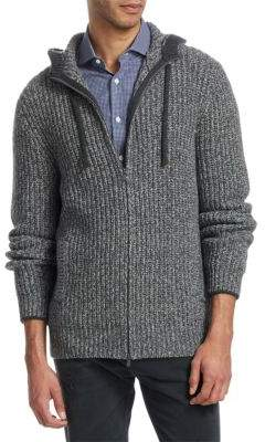 Brunello Cucinelli Hooded Cashmere Sweater Jacket