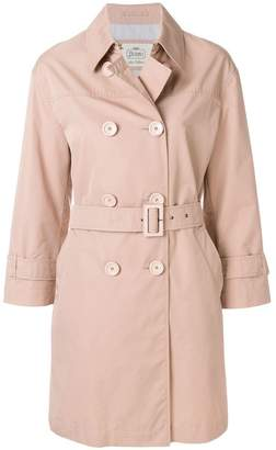 Herno cropped sleeve trench coat