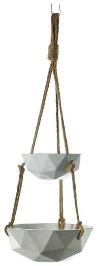 ACCENT DECOR Mollywood Hanging Vase