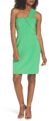 Vince Camuto Laguna One-Shoulder Scuba Dress