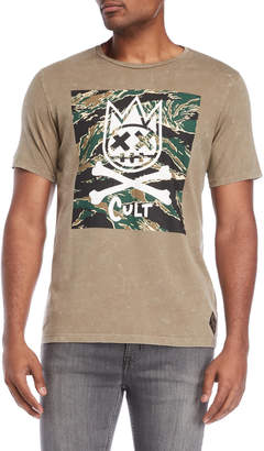 Cult of Individuality Camo Graphic Tee