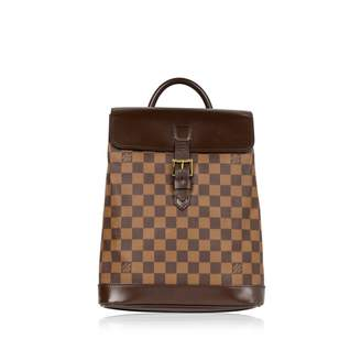 Louis Vuitton Vintage Brown Leather Backpacks