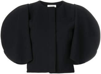 Nina Ricci cropped cape sleeve jacket