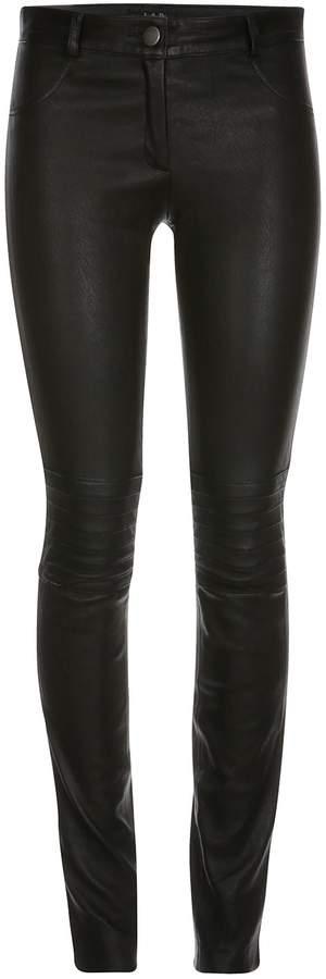 ELLESD - Zahra Leather Stretch Pants