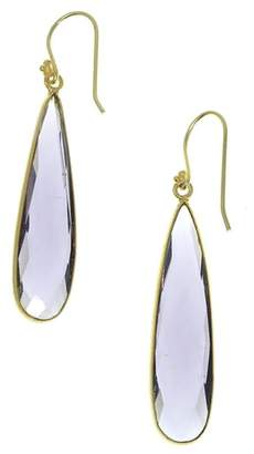 JEMMA SANDS Newport Semiprecious Stone Teardrop Earrings