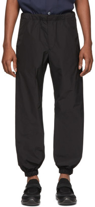 Prada Black Techno Poplin Lounge Pants