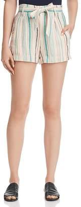 Splendid Belted Striped Shorts