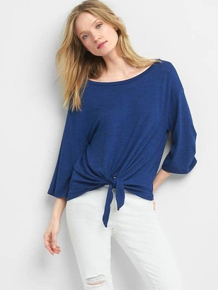 Softspun knit tie tee $44.95 thestylecure.com