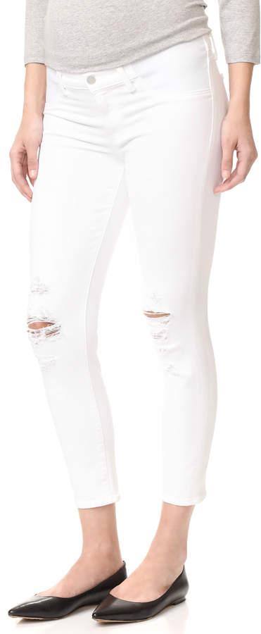 J BrandJ Brand Mama J Maternity Capri Jeans