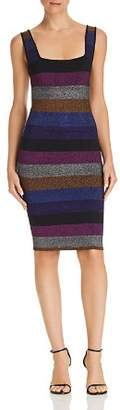 Ronny Kobo Farina Striped Body-Con Dress