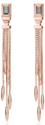 Monica Vinader Baja Deco Fringe Earrings