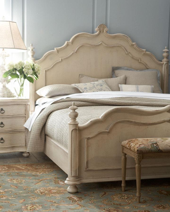 Horchow Caroline Queen Bed