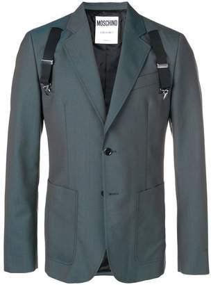 Moschino shoulder strap blazer