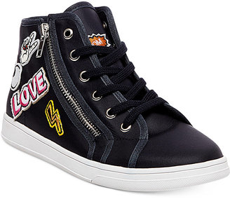 Madden Girl Cindy Hi-Top Sneakers $59 thestylecure.com