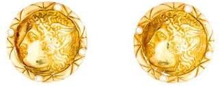 Seidengang 18K Diamond Cameo Earrings