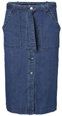 Vero Moda Julia Denim Pencil Skirt