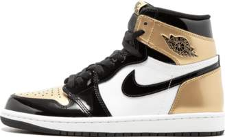 Jordan Air 1 Retro High OG NRG 'Gold Toe' - Black/Metallic Gold