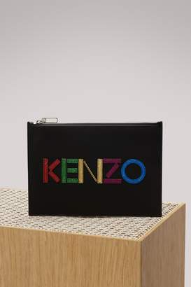Kenzo Christmas A4 pouch