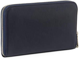 Longchamp Le Pliage Cuir Leather Zip-Around Wallet
