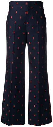 Gucci Ladybug cropped trousers
