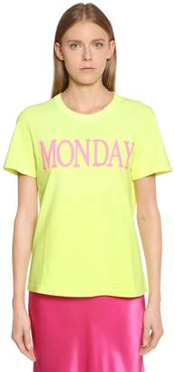 Alberta Ferretti Monday Cotton Jersey T-Shirt
