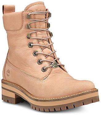 "Timberland Women Courmayeur Valley 6"" Lace-Up Boots Women Shoes"