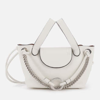 Meli-Melo Women's Linked Thela Mini Tote Bag - White