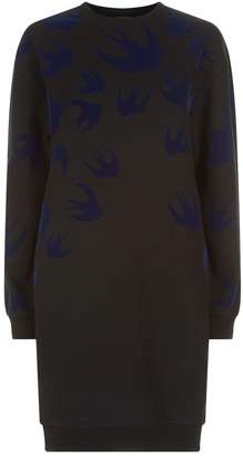 McQ Swallow Sweatshirt Dress