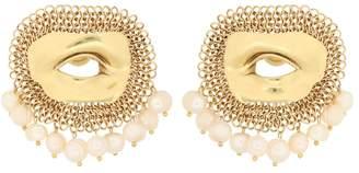 Ellery Pedigree XL Eye earrings