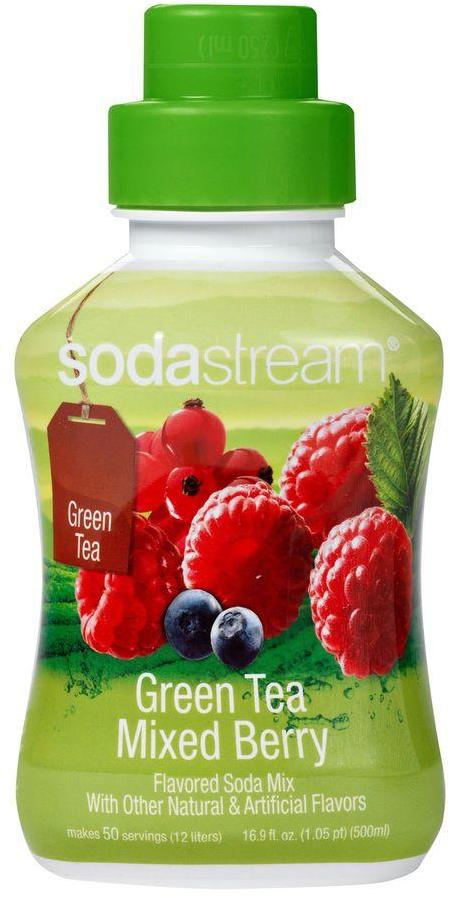 Sodastream 500ml Soda Mix - Green Tea Mixed Berries