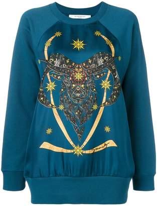 Givenchy front printed sweatshirt