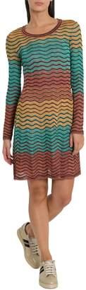 M Missoni Multicoloured Stripes Dress